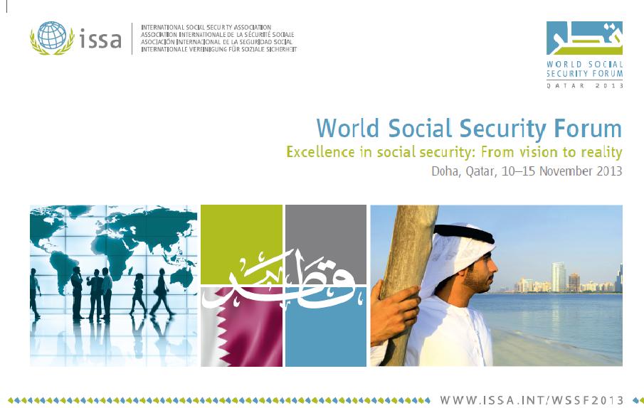 المنتدى العالمي للضمان الإجتماعي 2013