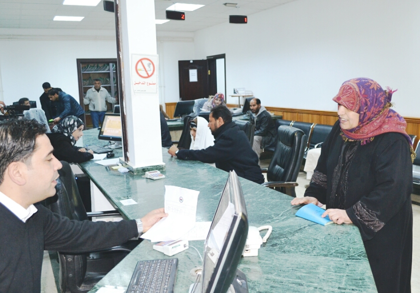 زيارة قناة الوطنية لمكتب الخدمات الضمانية المرج