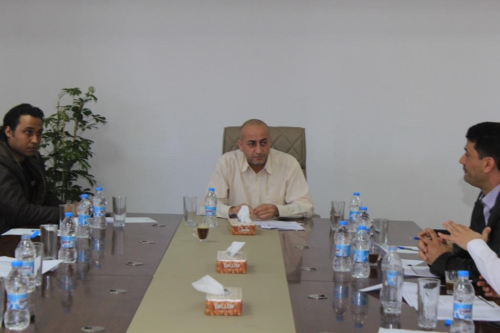 اجتماع اللجنة الفنية المالية لصندوق الضمان الاجتماعي