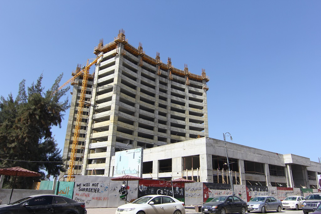 تحوير مبنى الإدارة العامة لصندوق الضمان الاجتماعي بمنطقة سيدي حسين