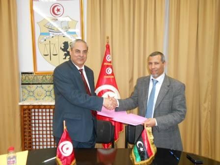اجتماع اللجنة المشتركة التونسية الليبية للضمان الاجتماعي
