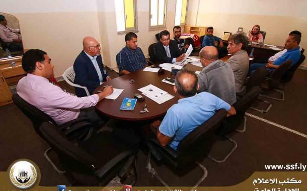 بنغازي: الاستعدادات لإحياء اليوم العالمي للسلامة والصحة المهنية
