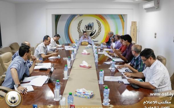 الاجتماع الثالث لجنة استكمال وتصحيح البيانات الضمانية