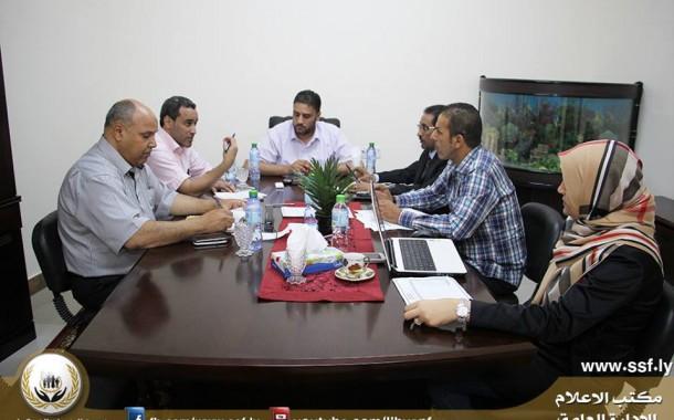 عقد الاجتماع الأول للجنة الترقيات برئاسة السيد مدير إدارة الشؤون الإدارية والخدمات
