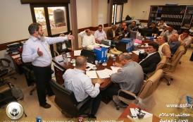 فريق التخطيط الاستراتيجي يواصل اجتماعاته