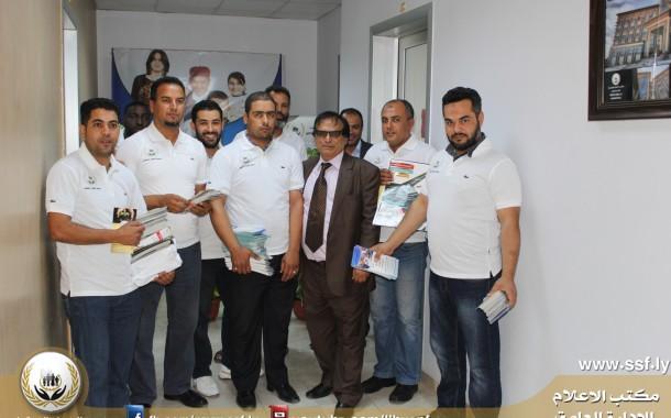 حملة توعية ضمانية في ذكري اليوم الوطني للضمان الاجتماعي