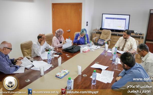 اجتماع اللجنة الفنية لإعداد مناهج عقود التدريب