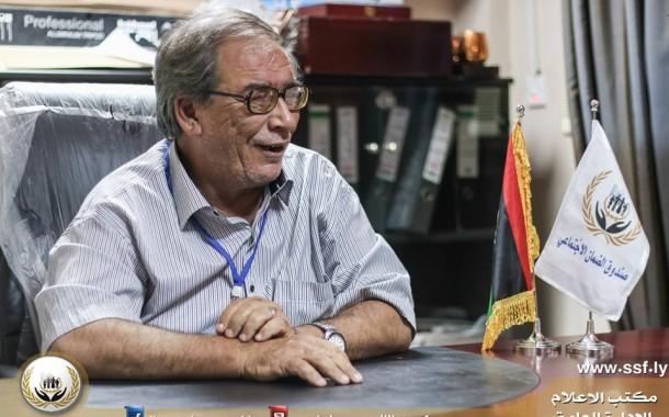 مكتب الاعلام و التوعية في زيارة لفرع صندوق الضمان الاجتماعي بنغازي الشرقي