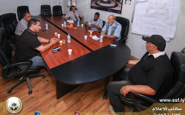 الاجتماع الأول لإدارة المخاطر ومنع الخسائر بخبراء الأمن والسلامة