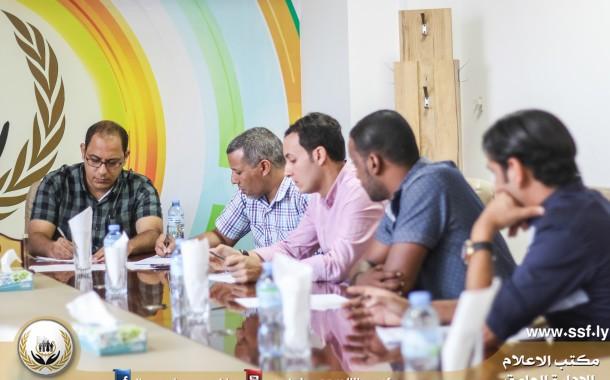 التقابلي الأول لإدارة المعاشات والمركز الليبي للاستشارات