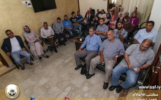 مناقشة تقرير مرئي بعنوان المؤشرات الاقتصادية الليبية
