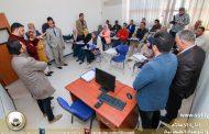 زيارة لجنة متابعة المتدربين للمدرسة الدولية
