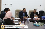 اجتماع لجنة تحديث نمط التقارير في صندوق الضمان