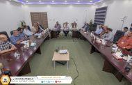 اجتماع لجنة تحديد النطاق الإداري لفرعي شرق وغرب بنغازي