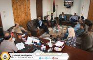 توصيات لجنة إعداد قاعدة البيانات في ختام زيارة اللجنة لفرع الجبل الأخضر