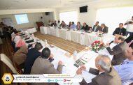 تقابلي يجمع مدير المركز الليبي ورؤساء وحدات التدريب في فروع ومكاتب الصندوق