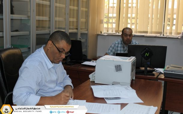 لجنة الترقيات بإدارة الشؤون الإدارية والخدمات تواصل أعمالها