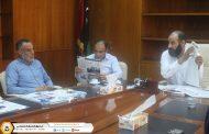 الإعلام والتوعية بفرع الصندوق طرابلس يناقش عدد من الخطط والبرامج الإعلامية