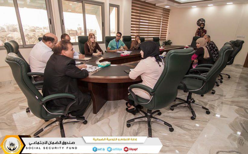 خطوة الالكترونية محور اجتماع الاعلام والتوعية الضمانية