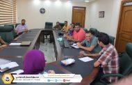 تقابلي يجمع إدارة الإعلام وقسم الإعلام بفرع غرب بنغازي
