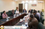 مدير إدارة التسجيل و الاشتراكات و التفتيش يقوم بزيارة لفرع غرب بنغازي