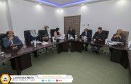 اجتماع لجنة متابعة سير العقود التدريبية