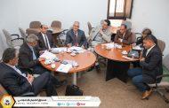 مناقشة ورقة الوفد المشارك في الندوة القومية حول دور الإعلام والتواصل في توسعة الشمول بالضمان الاجتماعي