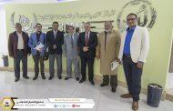 لجنة تأسيس وإنشاء المكتبة الضمانية اجتماعها الاول بالمركز الليبي للأبحاث والدراسات الاكتوارية