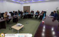 رئيس مجلس الادارة والمدير العام للصندوق يثني على مجهودات لجنة تأسيس وإنشاء المكتبة الضمانية