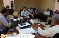 الاطلاع على سير العمل يمقر الادارة العامة للصندوق طرابلس