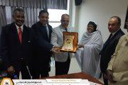 لجنة انشاء وتأسيس المكتبة الضمانية تختتم زيارتها للسودان وتونس