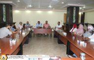 مناقشة سبل تطوير الخدمات الصحية لموظفي صندوق الضمان الإجتماعي