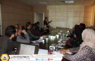 إدارة الجودة تنظم حلقة نقاش للتعريف بأدلة الجمعية الدولية للضمان الاجتماعي (ايسا)