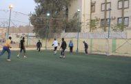 فريق فرع فزان لكرة القدم يتدرب استعدادًا للبطولات