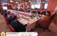 رئيس مجلس الإدارة والمدير العام يفتتح جلسة ملتقى قيادات الصندوق 2018