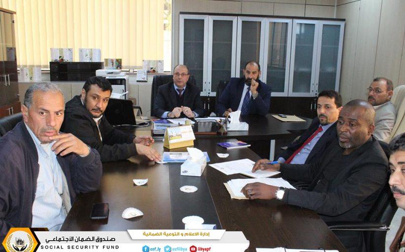 فرع صندوق الضمان الإجتماعي طرابلس يجتمع مع الضمانية للتأمين