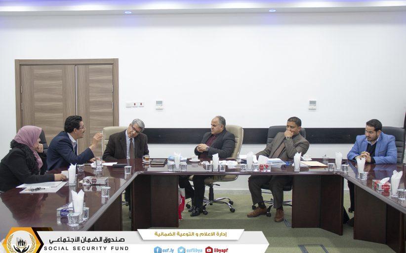 لجنة تأسيس وانشاء المكتبة الضمانية  تستعرض نتائج المشاركة في معرض القاهرة الدولي للكتاب