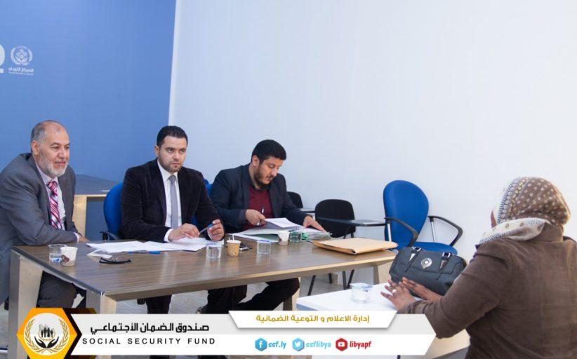 لجنة الامتحانات تختتم مع بنغازي