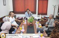 العلاقات الدولية في ضيافة شرق بنغازي وتبادل للخبرات