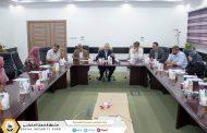 لقاء عمل وتعاون مُرتقب بين وزارة المالية والمركز الليبي للبحوث والدراسات الاكتوارية