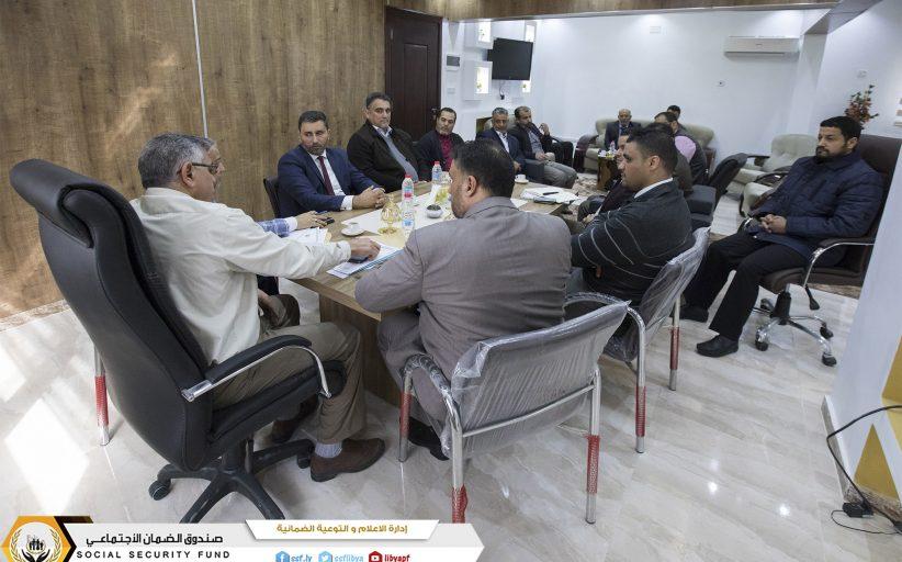 اللجنة الرئيسية لمتابعة الفروع  تختتم جولتها لفروع المنطقة الشرقية