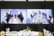 متابعة مناقشة الميزانية التقديرية لعام 2021 لفرعي طرابلس و المرج  عبر الدوائر المغلقة  (video conference)