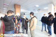 قناة ليبيا الرسمية تتابع سير العمل وتستطلع آراء المتقاعدين بالتنسيق مع ادارة الاعلام
