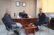 وفد من القنصلية التونسية بطرابلس في زيارة لصندوق الضمان الاجتماعي