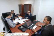 لجنة ترقية موظفي صندوق الضمان الاجتماعي تواصل اعمالها