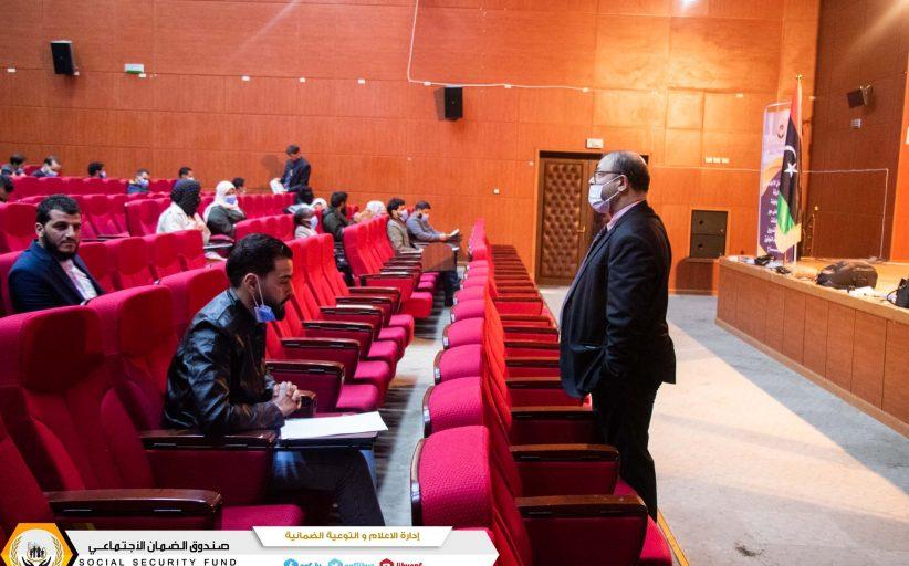 لجنة متابعة سير الامتحانات تحط الرِحال و درنة مسك الخِتام