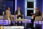 قيادات المؤسسة الضمانية ضيوف قناة الليبية في تغطية خاصة
