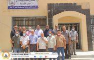 الإدارة العامة تختتم زياراتها لفروع الصندوق المنطقة الغربية بتفقد فرع صندوق الضمان الاجتماعي النقازة