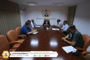 تقابلي يجمع ادارة الاعلام والتوعية الضمانية بالمركز الليبي للاستشارات والتنمية البشرية