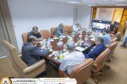 فريق متابعة المنظمات الدولية يرتب لمشاركة الصندوق بمنتدى الايسا الأفريقي